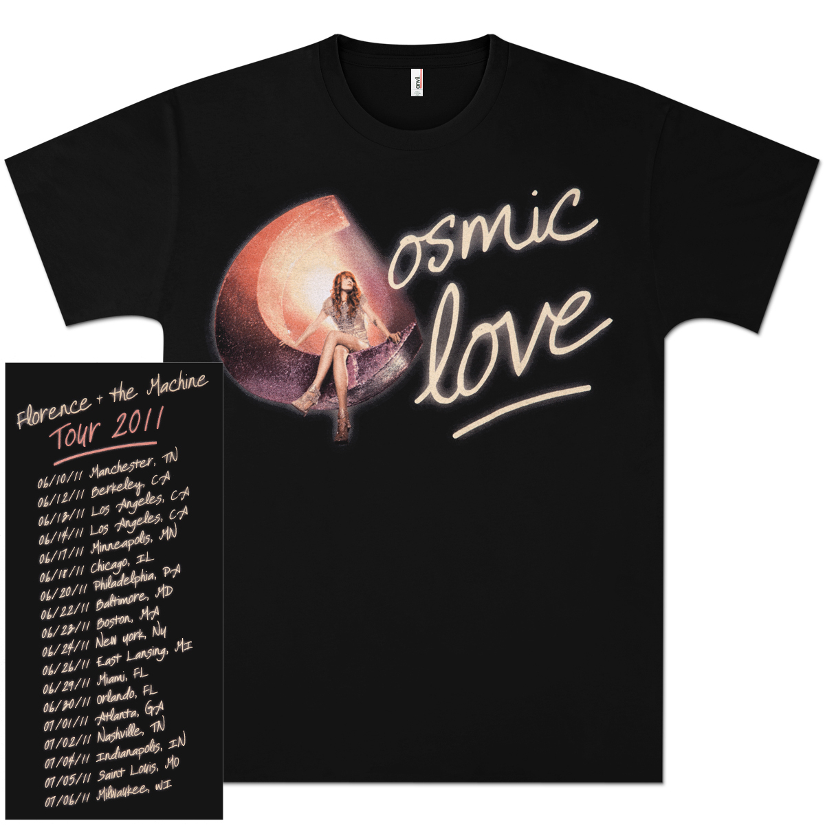 Florence and the Machine Cosmic Love Tour