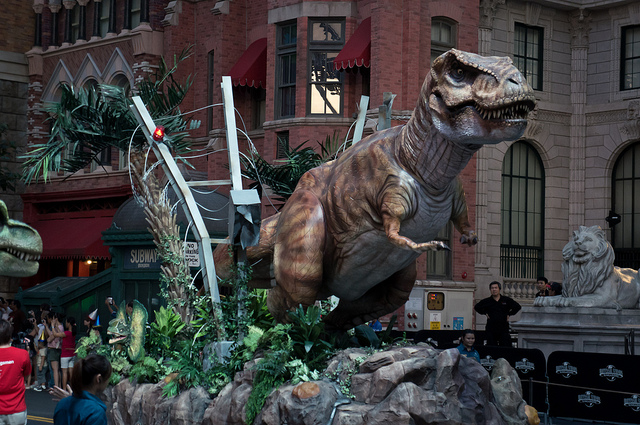 "Universal Studios Singapore ""The Lost World Jurassic Park"""