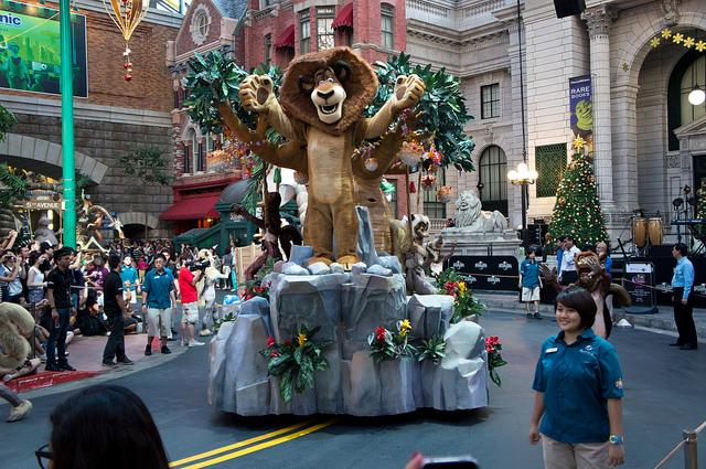 "Universal Studios Singapore ""Madagascar"""