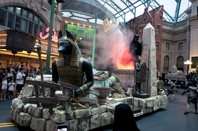 "Universal Studios Singapore ""The Mummy"""