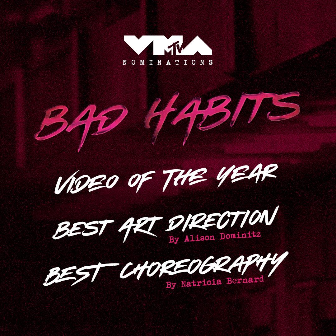 MTV Video Music Best Choreography Nomination